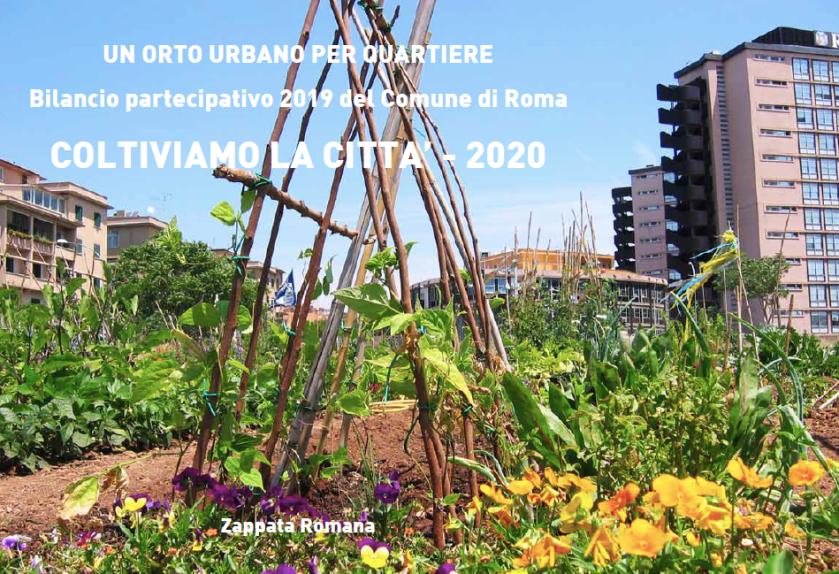 """Coltiviamo la città, un orto per quartiere"""" Roma – Bilancio ..."""